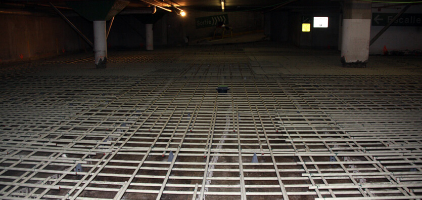 The Application of GFRP Bars in Building Parking Garages