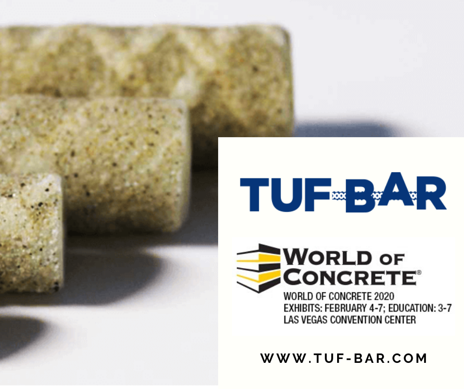 TUF-BAR Attending World of Concrete in Las Vegas NV